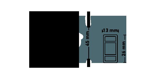 Nůžkové stany Specifikace